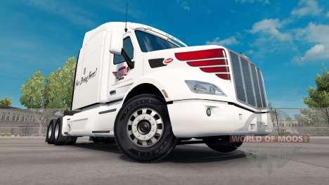 Haut auf Keystone westlichen Peterbilt Zugmaschi für American Truck Simulator