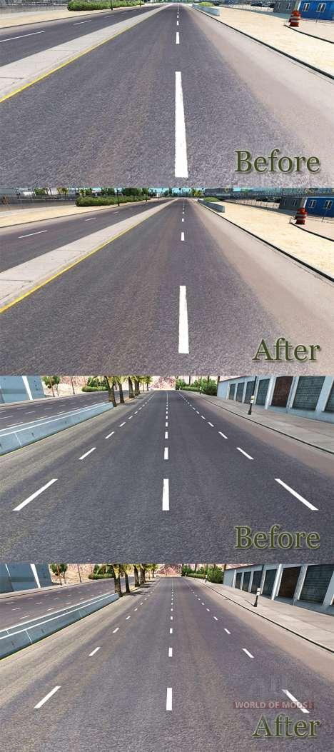 L'amélioration de marquage routier pour American Truck Simulator