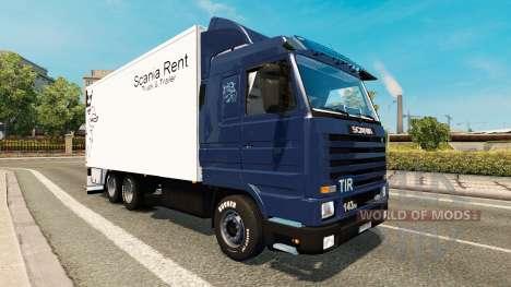 Скин Scania Louer на Scania 143M BDF pour Euro Truck Simulator 2