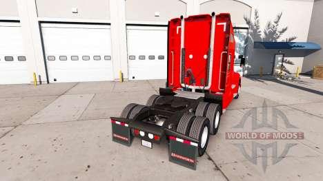La peau de Dr Pepper sur un tracteur Kenworth pour American Truck Simulator