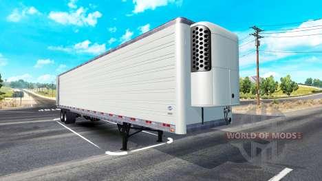 Long frigorifique semi-remorque pour American Truck Simulator