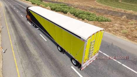 Le Wilkens Le Plancher De Marche De La Semi-Remo pour American Truck Simulator