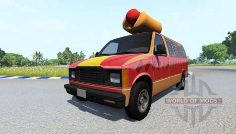 Gavril H-Series Fast Food für BeamNG Drive