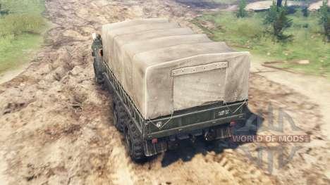 Ural-375 für Spin Tires