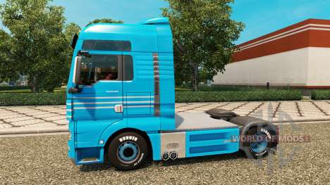 Haut Detten Johann Dorfer v1.1 für den Traktor M für Euro Truck Simulator 2