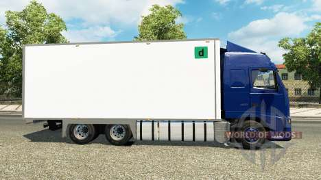 Volvo FH tandem für Euro Truck Simulator 2
