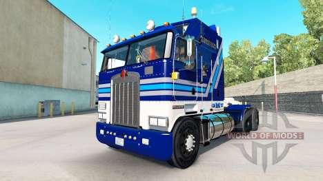 De Vin de la californie de la peau pour Kenworth pour American Truck Simulator