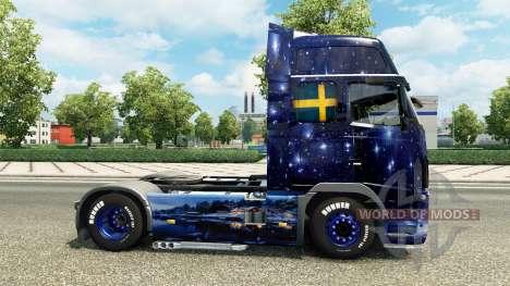 Wiking Transport skin für den Volvo truck für Euro Truck Simulator 2