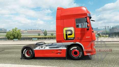 Palfinger peau pour DAF camion pour Euro Truck Simulator 2
