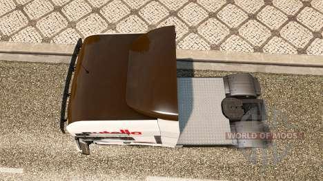 Nutella peau v2.0 tracteur HOMME pour Euro Truck Simulator 2