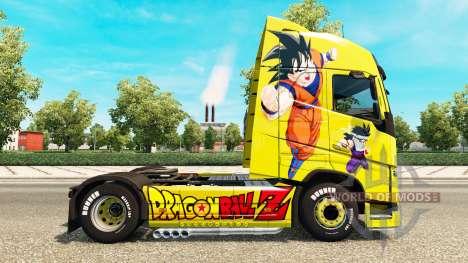 Haut Dragon Ball Z für Volvo-LKW für Euro Truck Simulator 2