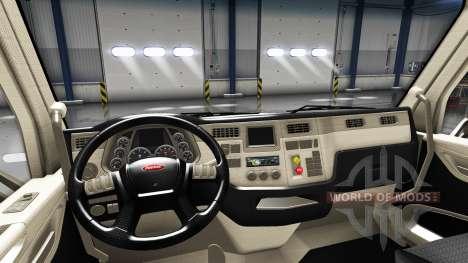 Redessiné l'intérieur dans un Peterbilt 579 pour American Truck Simulator