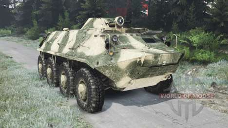 Der BTR-70 [03.03.16] für Spin Tires