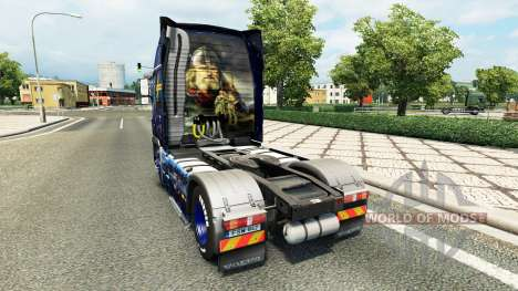 Wiking ifaf de Transport de la peau pour Volvo c pour Euro Truck Simulator 2
