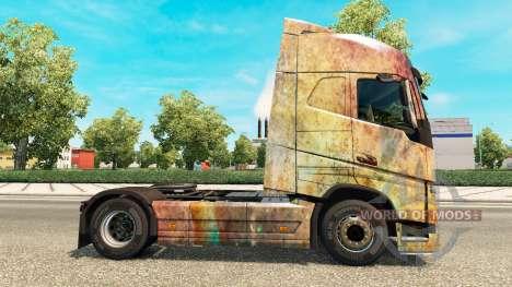 Haut auf die Nebula Grunge-Volvo trucks für Euro Truck Simulator 2