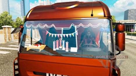 Das neue Interieur ist von Iveco-LKW für Euro Truck Simulator 2