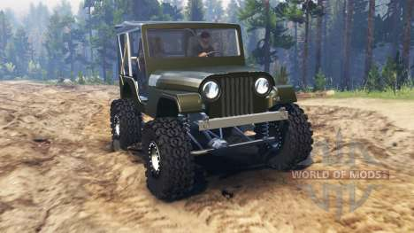 Jeep Willys 1963 pour Spin Tires