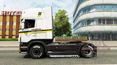 Wallek de la peau pour Scania camion pour Euro Truck Simulator 2