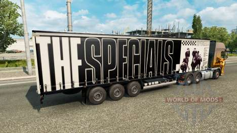 Haut Die Specials auf den trailer für Euro Truck Simulator 2