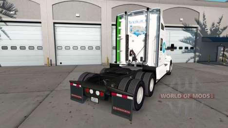 Amerigroup de la peau pour le tracteur Kenworth pour American Truck Simulator