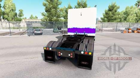 Der Pearl skin für den truck-Peterbilt 389 für American Truck Simulator