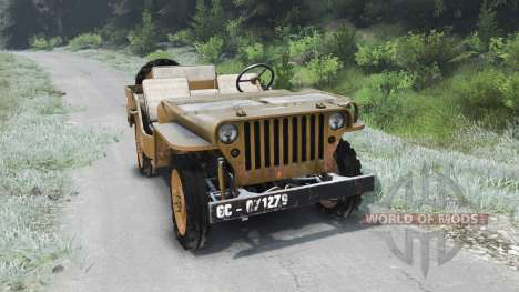 Jeep Willys 1942 [03.03.16] pour Spin Tires