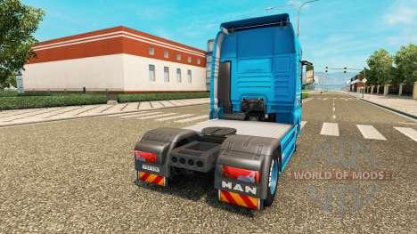 La peau Detten Johann Dorfer v1.1 pour le tracte pour Euro Truck Simulator 2