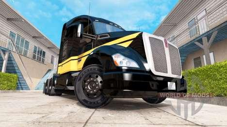 Haut Smokey und Der Bandit Kenworth-truck auf de für American Truck Simulator