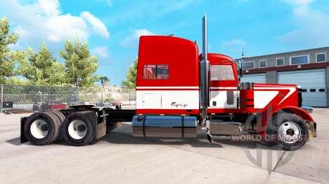 La vipère de la peau pour le camion Peterbilt 38 pour American Truck Simulator