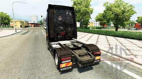 Haut Battlefield 4 v2.0 für Volvo-LKW für Euro Truck Simulator 2