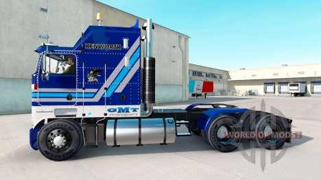 California Wine skin für Kenworth K100 LKW für American Truck Simulator