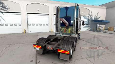 La peau de Poutine sur le camion Freightliner Ar pour American Truck Simulator