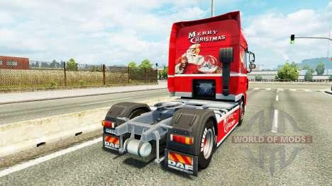 Haut Coca-Cola auf den LKW, DAF für Euro Truck Simulator 2