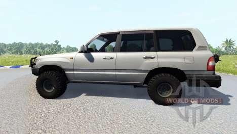 Toyota Land Cruiser 100 [renewed] pour BeamNG Drive