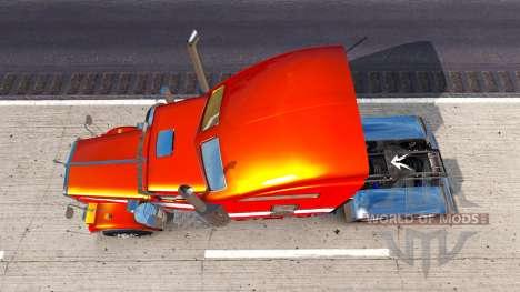 Metallische Haut für den Kenworth W900 Zugmaschi für American Truck Simulator