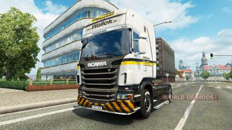 Wallek skin für Scania-LKW für Euro Truck Simulator 2