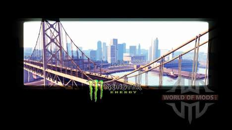Monster Energy dans les écrans de chargement pour American Truck Simulator
