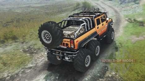 Hummer H2 6x6 [03.03.16] für Spin Tires