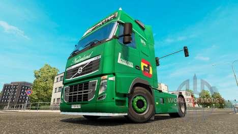 Lehmann skin for Volvo truck pour Euro Truck Simulator 2
