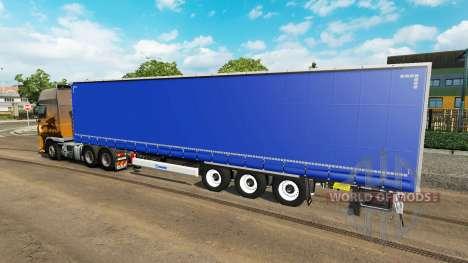 Vorhang semi-trailer für Euro Truck Simulator 2