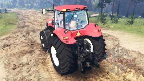 Case IH Magnum CVT 380 pour Spin Tires