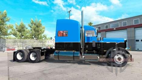 La peau Chaude de la Route sur un tracteur Rigs  pour American Truck Simulator