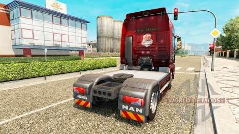 Noël de la peau pour l'HOMME de camion pour Euro Truck Simulator 2