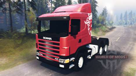 Scania R420 [03.03.16] pour Spin Tires