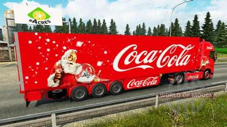 Peau-Coca-Cola tracteur Volvo pour Euro Truck Simulator 2