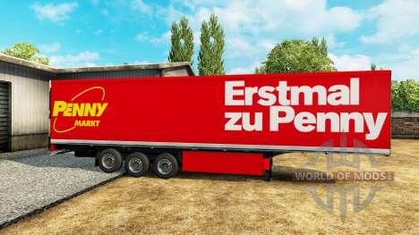 Eine Sammlung von skins für Trailer v1.0 für Euro Truck Simulator 2