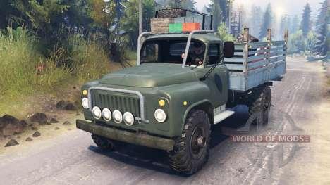 GAZ-53 v03.02.16 für Spin Tires