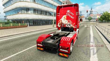 La peau de Coca-Cola sur le tracteur Scania pour Euro Truck Simulator 2