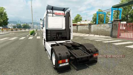 Haut Intermarket auf der Sattelzugmaschine Merce für Euro Truck Simulator 2