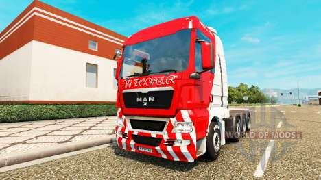 MAN TGX 8x4 für Euro Truck Simulator 2